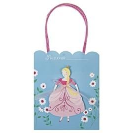 Prinsesse party bag, 8 stk. - Meri Meri